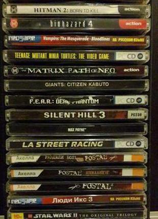Продам разные компьютерные игры (CD)