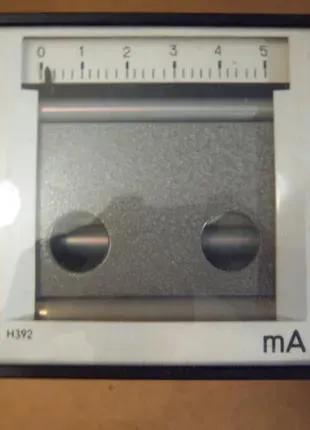 микроамперметр Н392  5mA  самопишущий