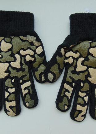 Перчатки детские «маскировочная сетка», бренд «joe boxer» сша
