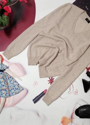 Пуловер f&f, 100% натуральный кашемир, размер m/l