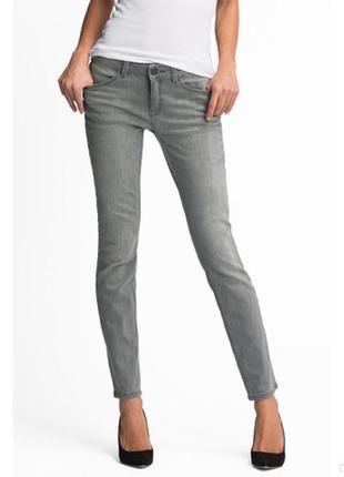 Серые джинсы the skinny c&a германия сток евро 40