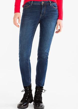 Джинсы с потертостями clockhouse the skinny jeans c&a германия...