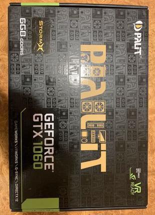 Видеокарта GeForce GTX 1060 6 gb