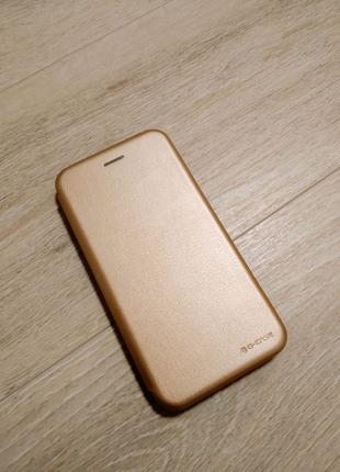 Xiaomi Redmi S2 чехол книжка золото