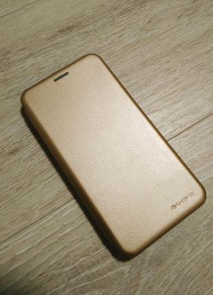 Xiaomi Redmi Note 5a чехол книжка золото