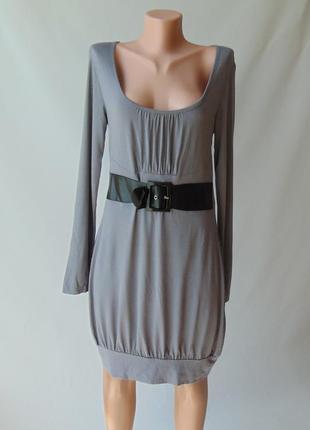 Платье вискоза длинный рукав 38-40