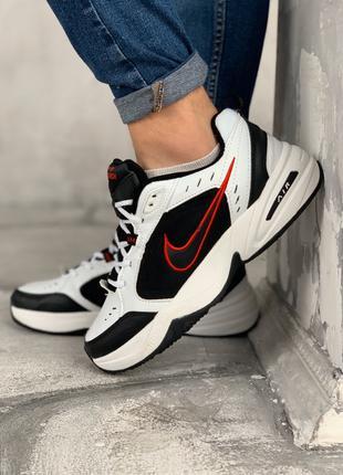 "Женские кроссовки Nike Air Monarch IV ""Black/White""(Топ качество)"