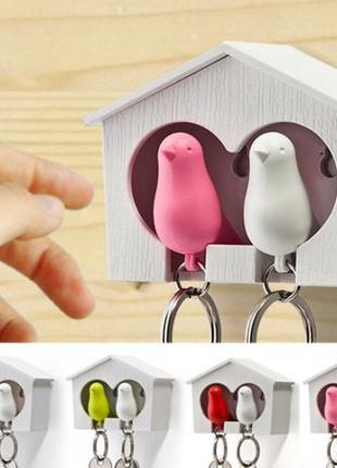 Птички в скворечнике, набор для двоих ко дню влюбленных
