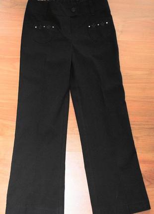 Школьные брюки m&s 7-8 лет