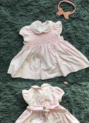 🌿 красивое платье на малышку
