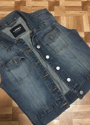 🌿 джинсовая жилетка lamici
