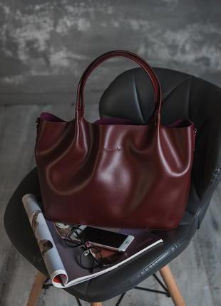 Классическая повседневная сумка шоппер