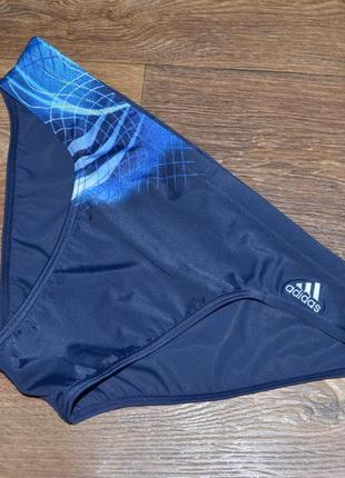 Мужские трусы-плавки adidas 3-stripes trunks (xl) оригинал.
