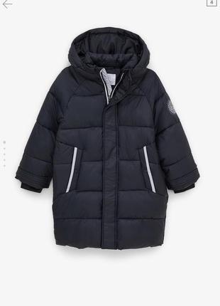 Куртка-пальто на мальчика zara