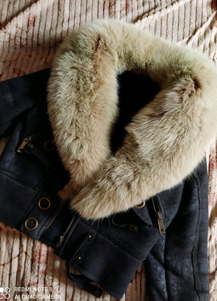 Куртка, дублёнка, натуральный мех