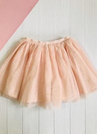 Фатиновая юбка пачка с блестками
