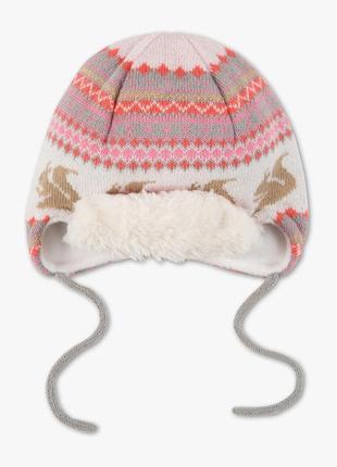 Теплая шапка на флисе c&a германия