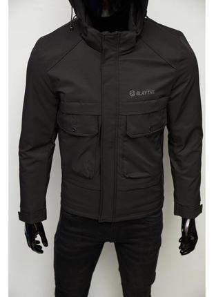 Куртка мужская демисезонная fr 9106 черная