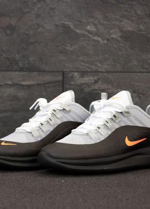 Nike air max axis шикарные мужские кроссовки найк серые с чёрным