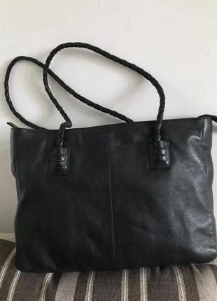 Кожаная сумка next