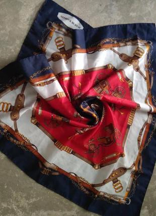 Винтажный платок бренда jean de bahrein  sale