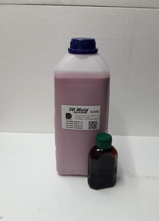 Литьевой силикон 3D-Mold 2,5кг\926грн