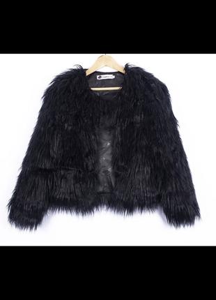 Стильная меховая Куртка ( искусственная)
