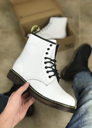 Ботинки унисекс 💥dr. martens хутро💥 топ качество