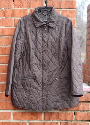 Демисезонная стеганая куртка fuchs schmitt германия 52 разм