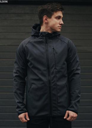Куртка staff soft shell grafit c