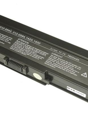 Аккумулятор Dell WW116 Inspiron 1420 11.1V Black 6600mAh