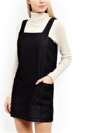 Фирменное джинсовое платье сарафан английского брэнда heartbre...
