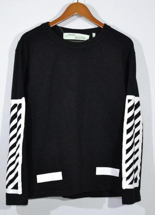 Кофта свитшот off white fake sweatshirt