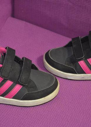 Детские кроссовки adidas на липучках (db1384)