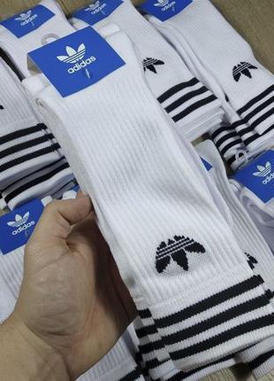 【ADIDAS】 стильні високі шкарпетки носки высокие nike puma reebok