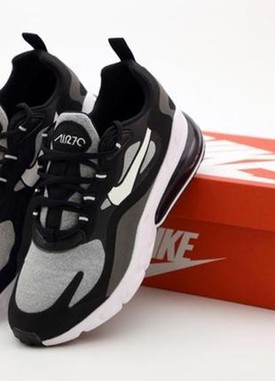 Nike air max 270 react black grey