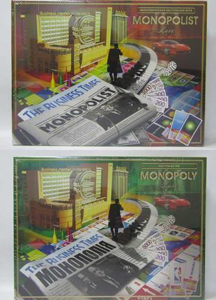 """Гра настільна """"Monopolist"""" рос (10)"""