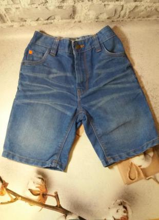 Джинсовые шорты для мальчика шорти джинсові