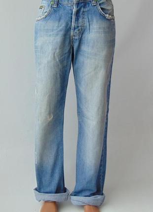 Рваные джинсы g-star raw w 31 l 34