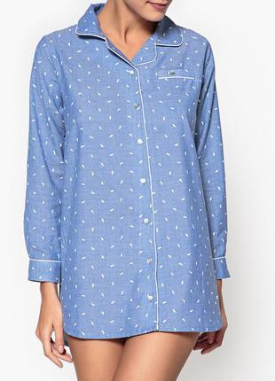 Котоновая ночна сорочка matalan, размер l