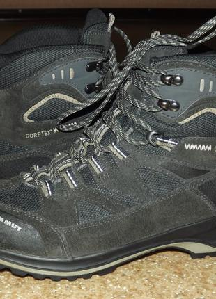 Трекинговые ботинки mammut teton gtx gore-tex