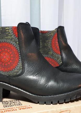 Демисезонные ботинки челси desigual