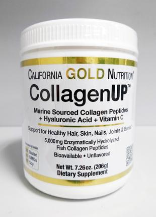 Рыбий морской коллаген California Gold CollagenUP 5000, 206 г