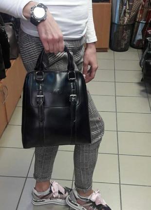 Женский кожаный рюкзаккожаная сумка из натуральной кожи шкіря...