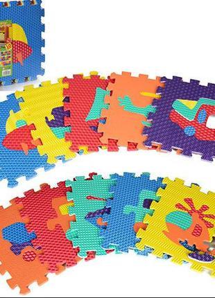 Детский коврик Мозаика Транспорт