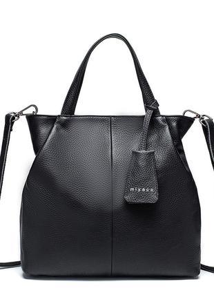Сумка женская стильная. сумочка из эко кожи (черная)