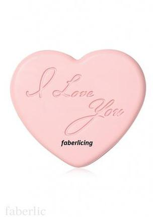 Фигурное туалетное мыло сердце storie d'amore faberlic 8734 фа...