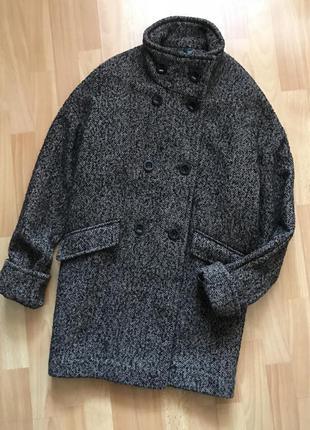 В наличии - деми пальто-оверсайз с воротником-стойкой *next* 1...