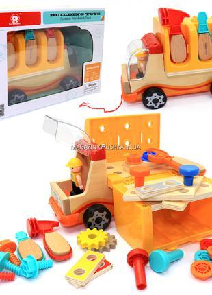 Деревянная развивающая игрушка Top Bright Машина-грузовик пере...