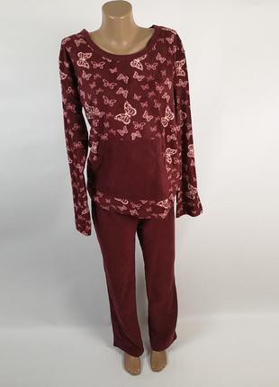 #розвантажуюсь флисовая пижама домашняя одежда размер 10